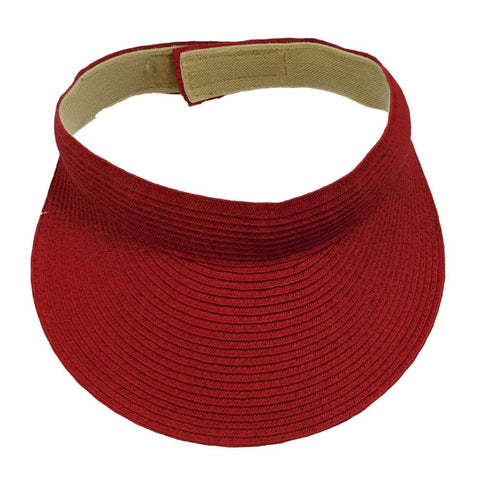 Traditional Solid Color Sun Visor