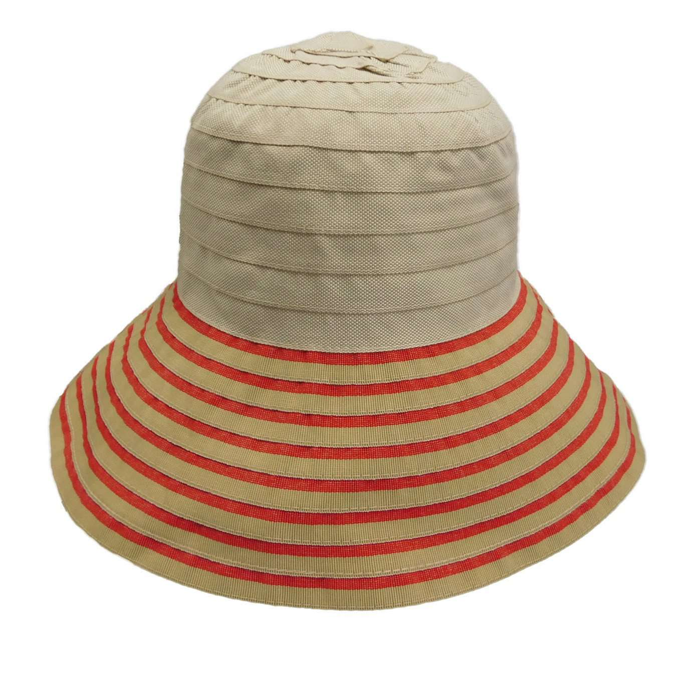 Denim Ribbon Crusher Bucket Hat - SetarTrading Hats