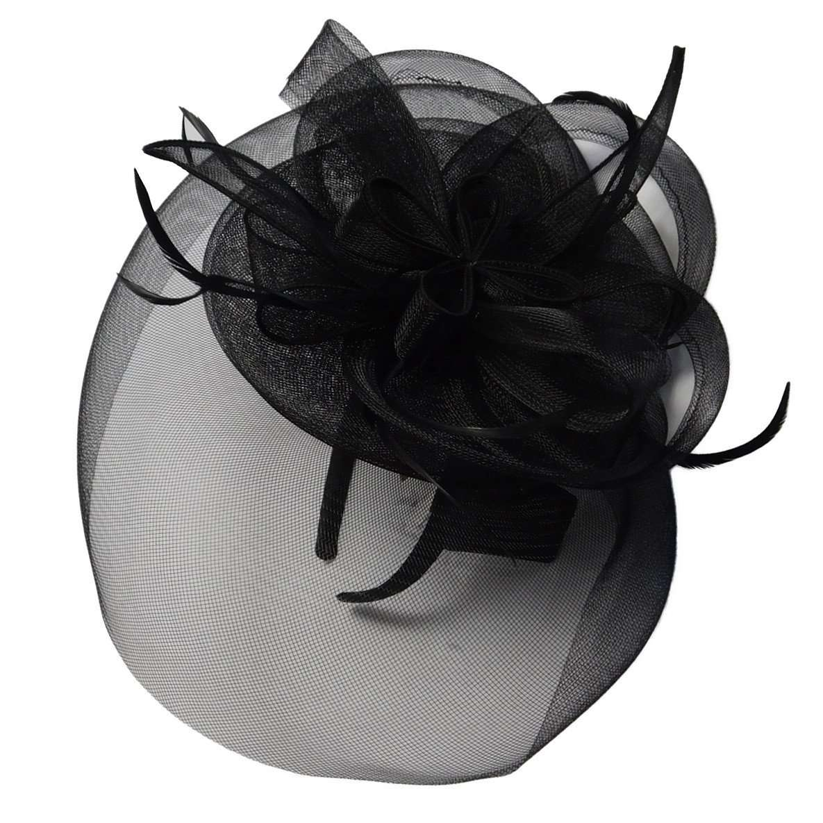 Loopy Mesh Veil Fascinator - SetarTrading Hats