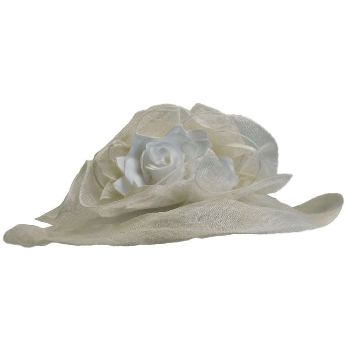 Crownless Sinamay Hat - SetarTrading Hats