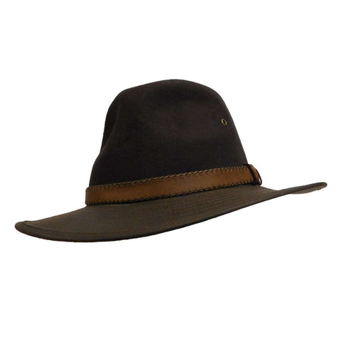 Wool Felt Outback Hat by Scala