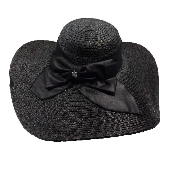new authentic outlet for sale promo codes Christy's Braided Raffia Capeline Hat