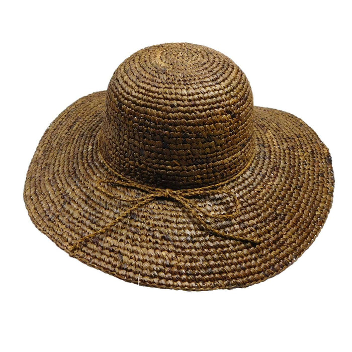 Paris Crochet Raffia Summer Hat by Peter Grimm -Natural - SetarTrading Hats