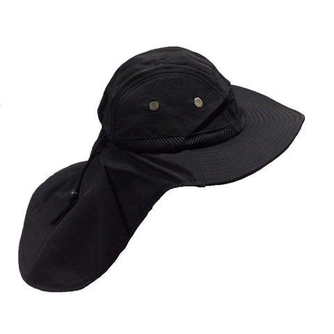 Large Bill Flap Cap