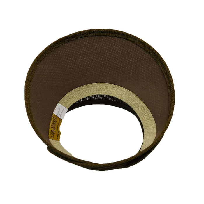 Gold Coast No Head Ache Sun Visor - Brown - SetarTrading Hats