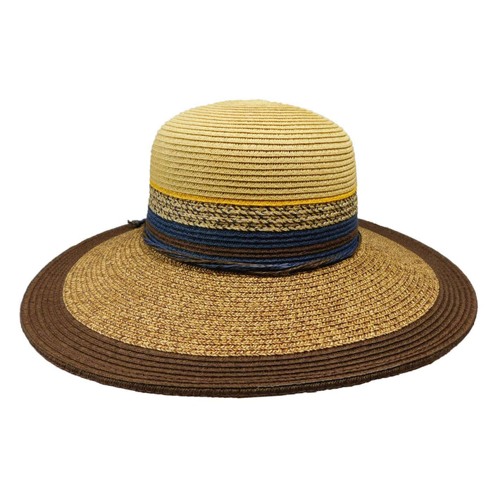 Karen Keith Multi Tone Sun Hat - SetarTrading Hats