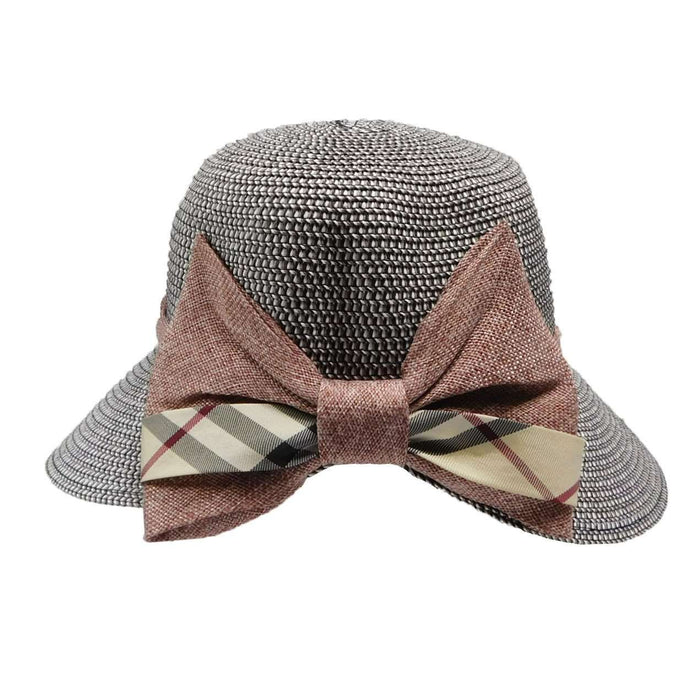 Facesaver with Plaid Bow - SetarTrading Hats