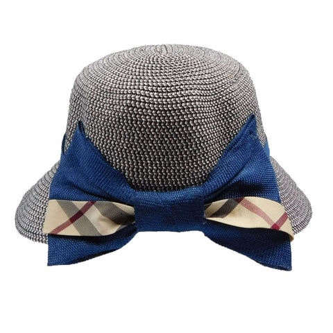 Facesaver with Plaid Bow