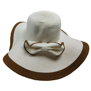 Sun Hat with Contrast Trim - SetarTrading Hats