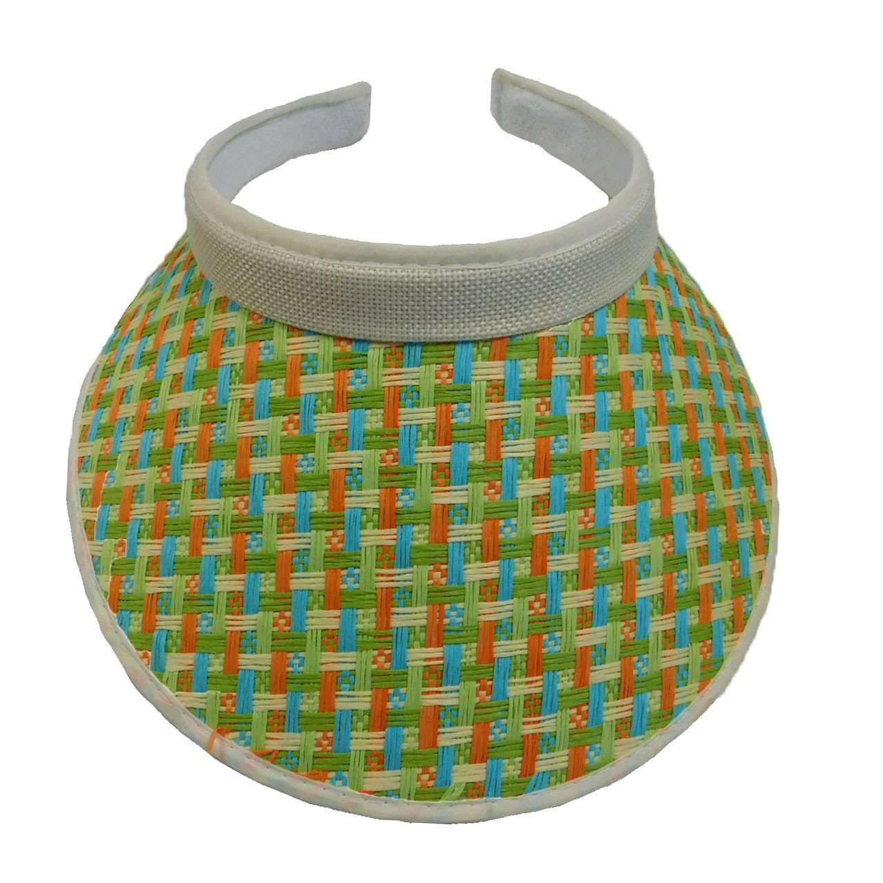 Multicolor Clip-On Sun Visor - SetarTrading Hats