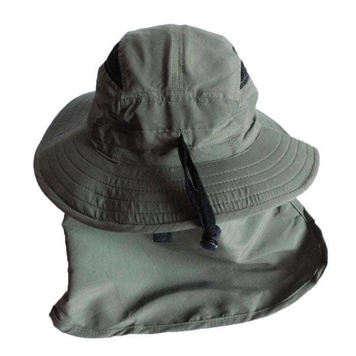 Microfiber Boonie with Neck Cape - SetarTrading Hats