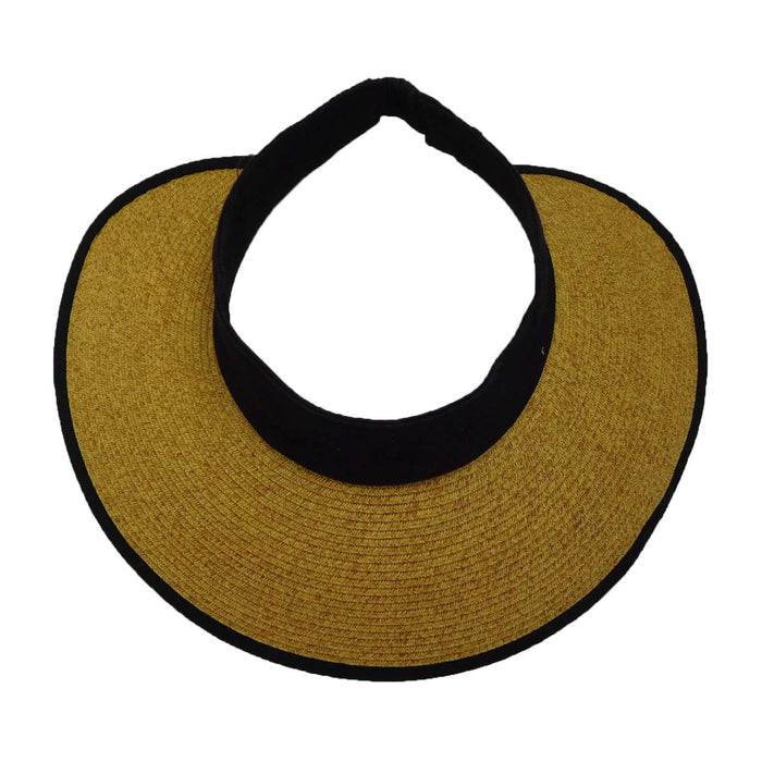 Roll Up Sun Visor with Elastic Closure - SetarTrading Hats