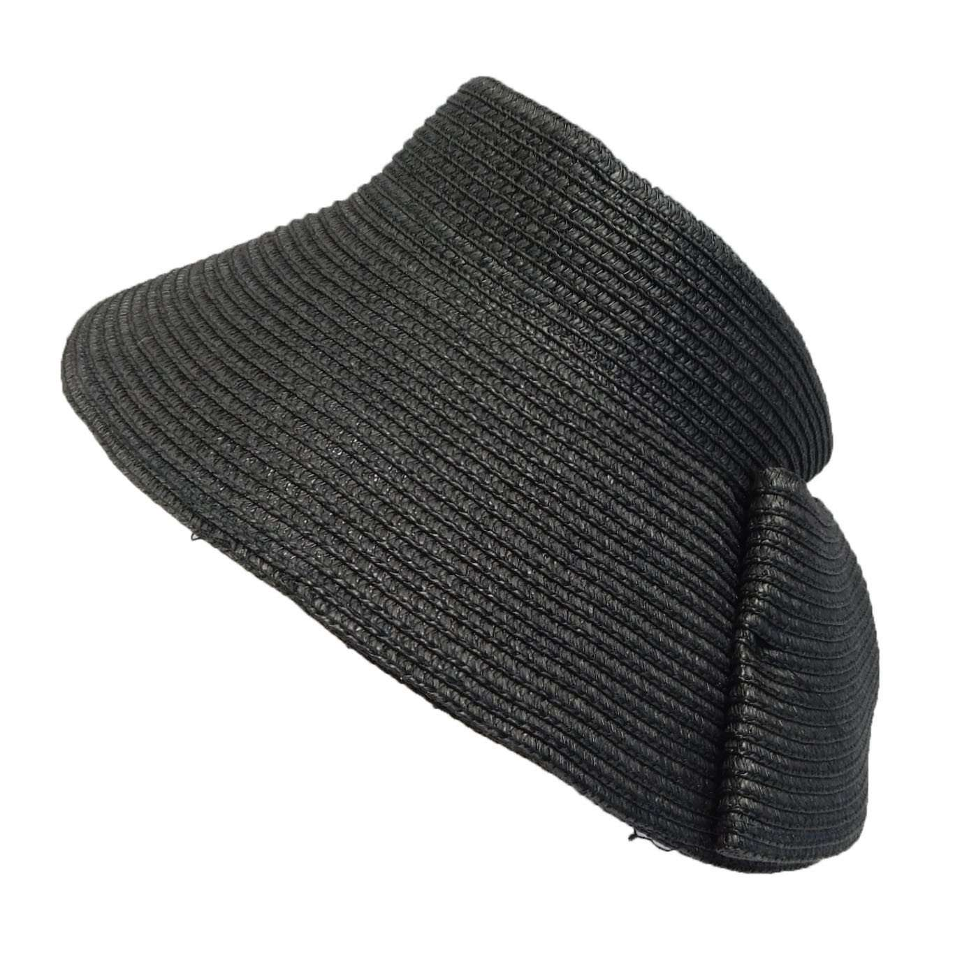 Sun Visor Hat with Wrap Around Bow - SetarTrading Hats