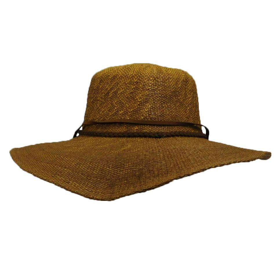 Woven Straw Hat with Chin Cord - SetarTrading Hats