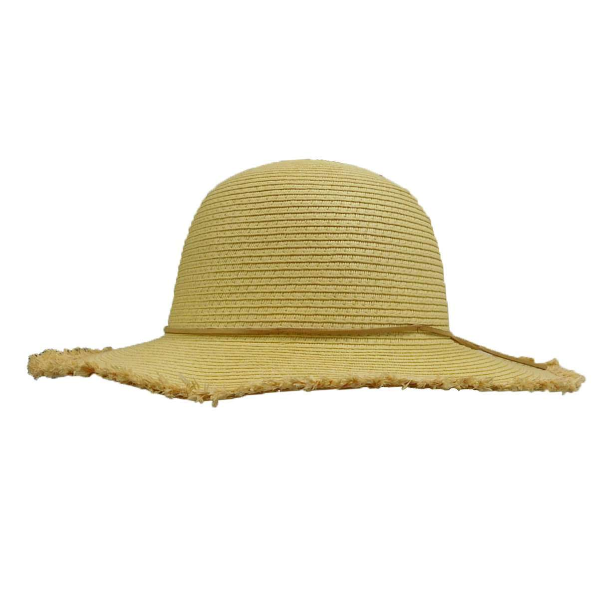 Girl's Straw Sun Hat with Fringe - SetarTrading Hats
