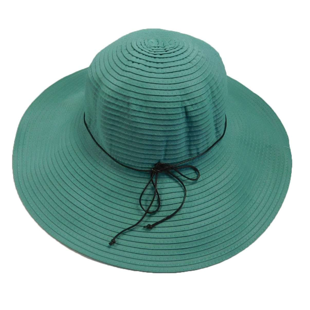 35507e89bb9 Shapeable Brim Ribbon Sun Hat - SetarTrading Hats