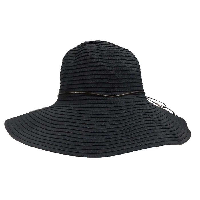 Shapeable Brim Ribbon Sun Hat - SetarTrading Hats