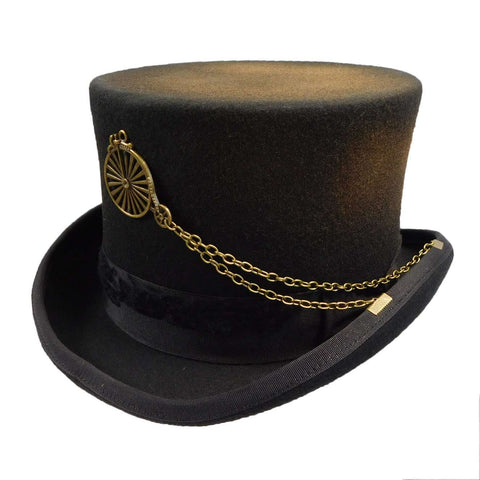Antiqued Steampunk Top Hat