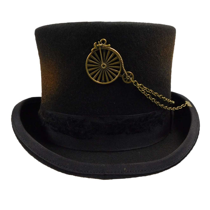 Beroemd Antiqued Steampunk Top Hat — SetarTrading Hats #DI93