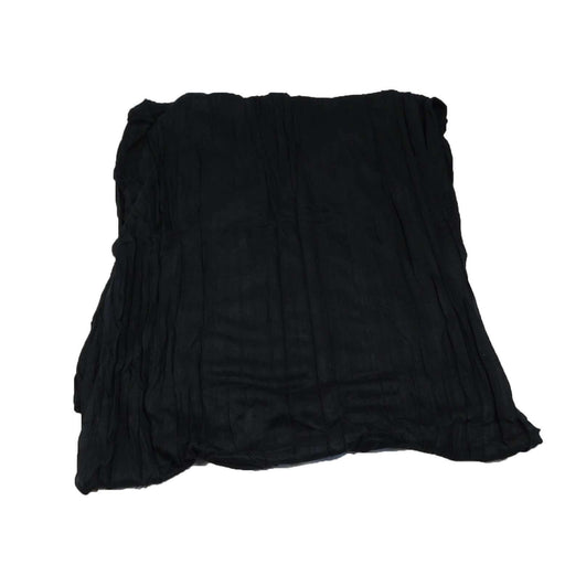 Black Crinkled Scarf - SetarTrading Hats
