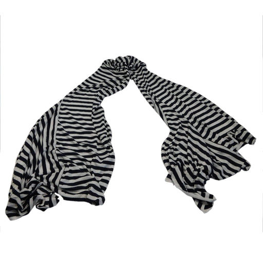Navy and White Striped Scarf - SetarTrading Hats