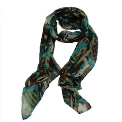 Abstract Print Scarf - SetarTrading Hats