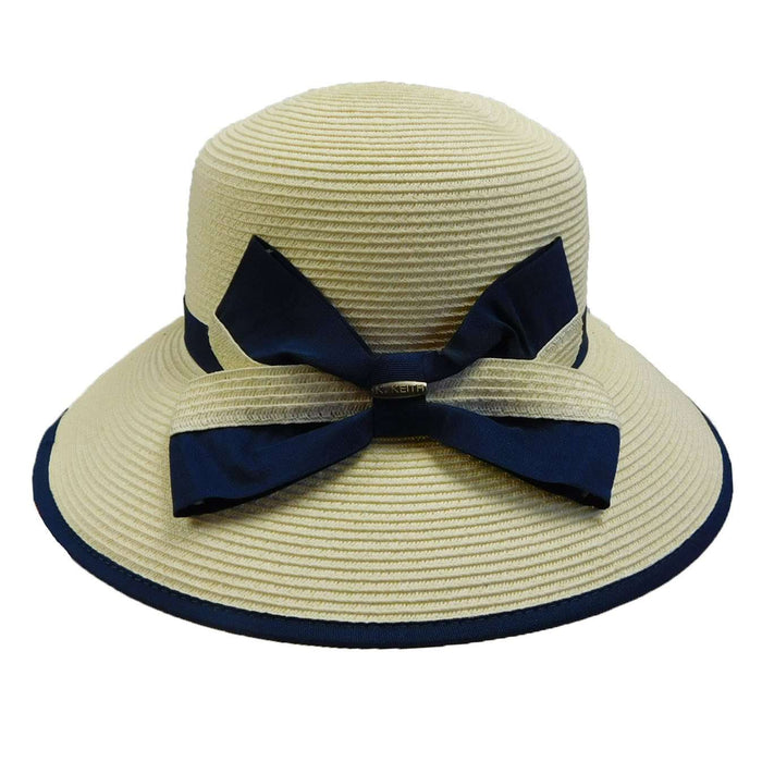 Ribbon Trimmed Summer Hat - SetarTrading Hats