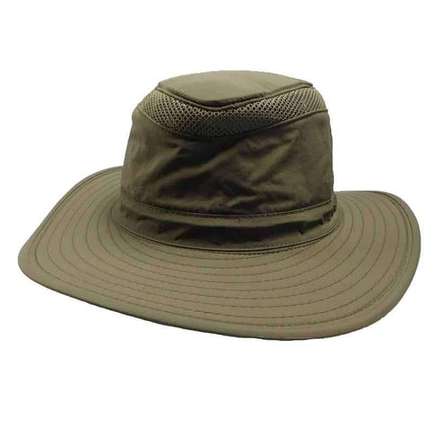 Henschel - 10 Point Microfiber Hiking Hat-Olive