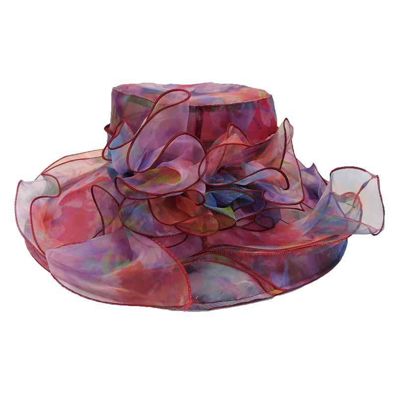 Iridescent Organza Hat - SetarTrading Hats