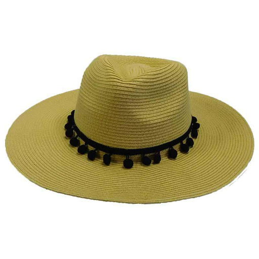 Floppy Fedora with Pom Poms - SetarTrading Hats