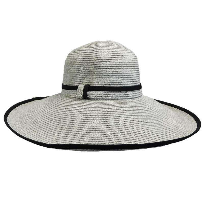 Large Trimmed Brim Summer Hat - SetarTrading Hats