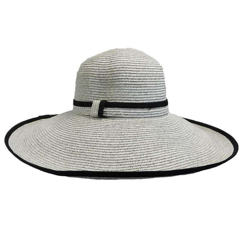 Large Trimmed Brim Summer Hat
