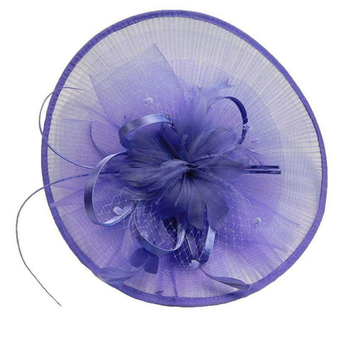 Asian Fan Feather Fascinator