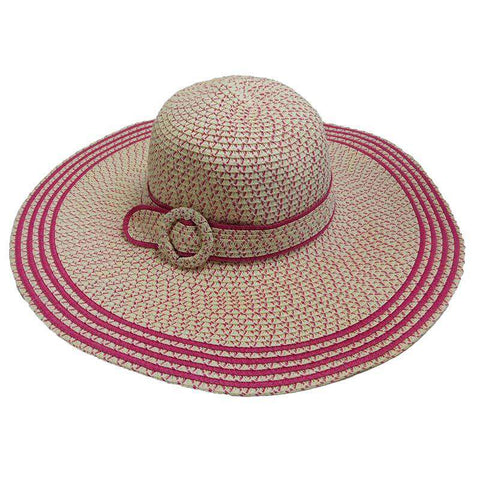 Speckled Summer Floppy Hat