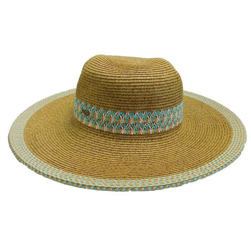 Woven Band Sun Hat - SetarTrading Hats