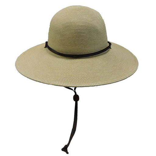 Tweed Summer Hat with Chin Strap by JSA for Women - SetarTrading Hats