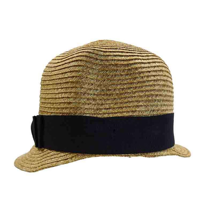 Backless Summer Brim Cloche by JSA for Women - SetarTrading Hats