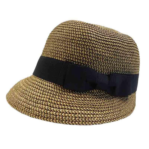 Backless Summer Brim Cloche by JSA for Women