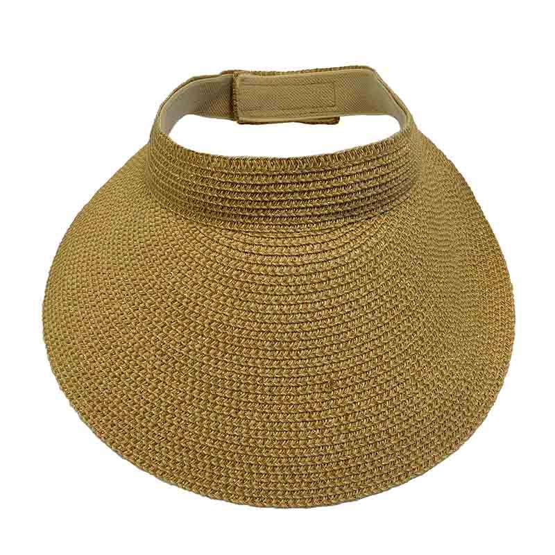Large Sun Visor with Metallic Accent
