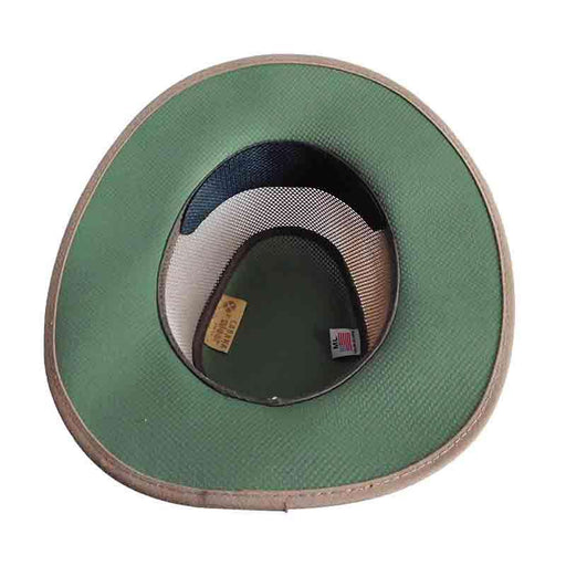 Cabana Beaver/Olive Two Tone SolAir Breathable Mesh Shade Hat by Head 'N Home - SetarTrading Hats