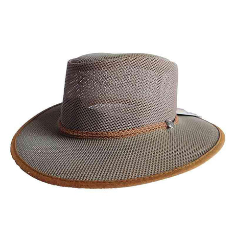 Cabana Beaver SolAir Breathable Mesh Shade Hat by Head 'N Home