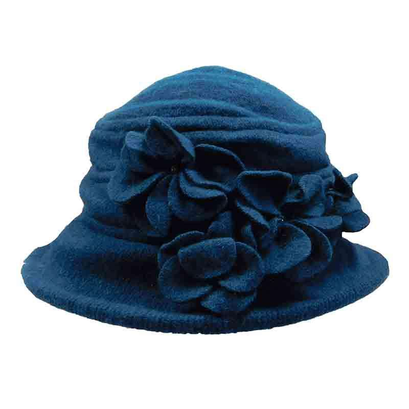 Flower Petals Cloche Beanie - SetarTrading Hats