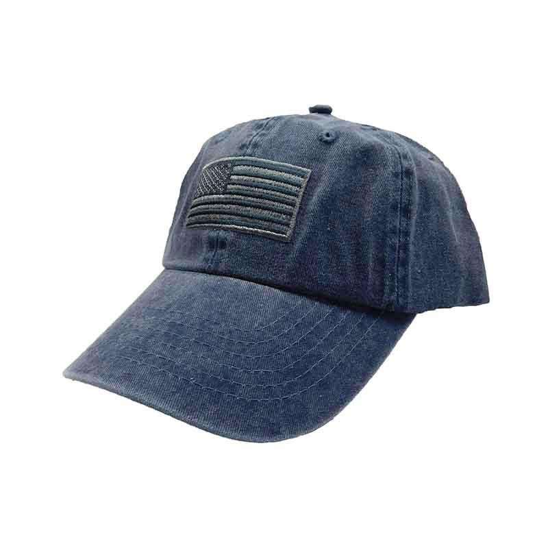 DPC Unstructured Cotton Cap with Faded USA Flag