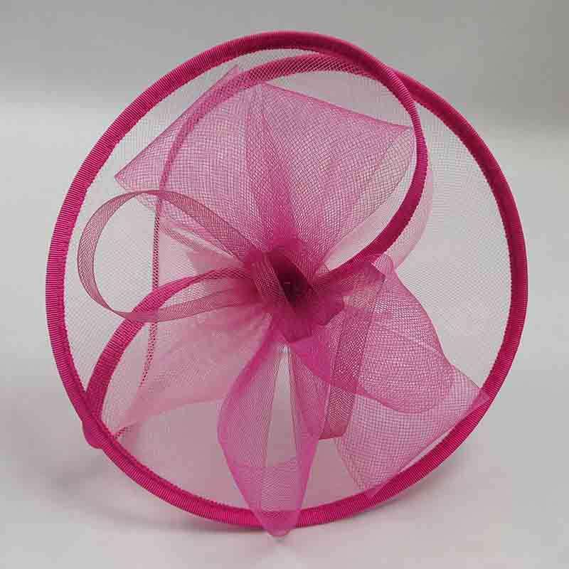 Ribbon Trimmed Layered Fascinator