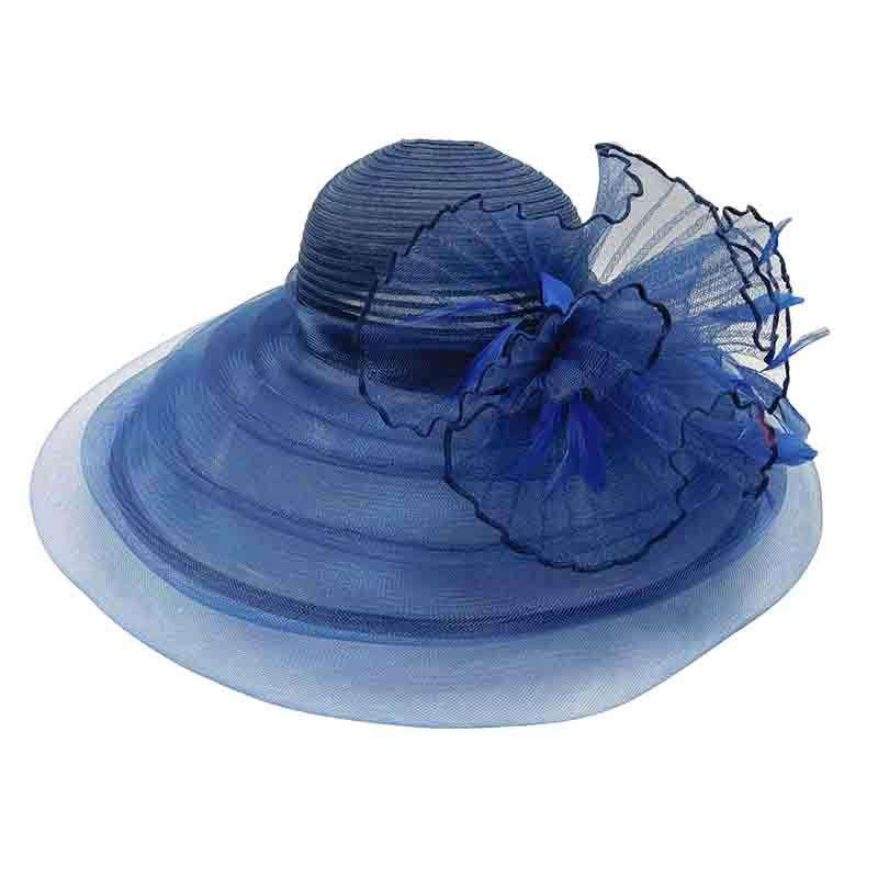 Crinoline and Puffy Tulle Kentucky Derby Hat