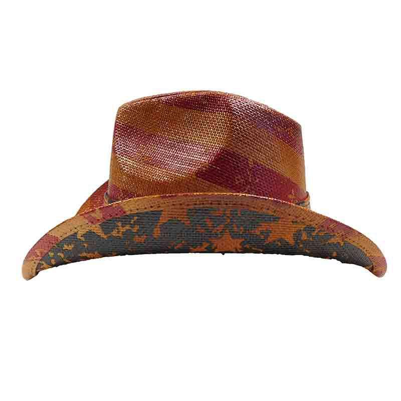 Vintage Brown USA Cowboy Hat