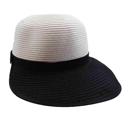 Two Tone Facesaver Hat by San Diego Hat Company