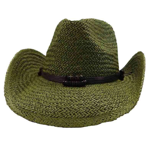 Woven Toyo Western Hat - by Sun Styles - 8 colors