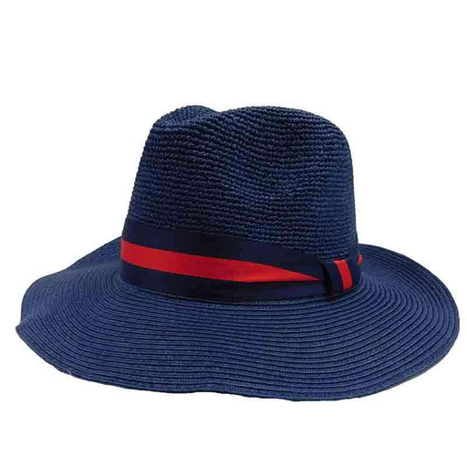 Navy Blue Safari Hat by Sun Styles