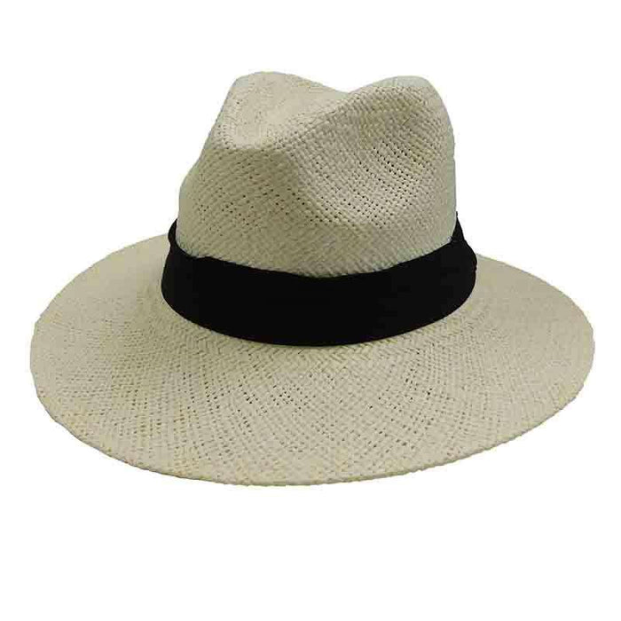 10087ec83c2 Woven Toyo Safari Style Hat with Black Band by Sun Styles — SetarTrading  Hats